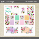 Just For Mom Card Kit 3