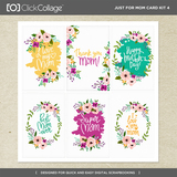 Just For Mom Card Kit 4