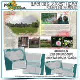 America's Largest Home Blueprint Sampler