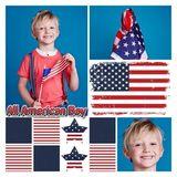 All American Boy Square Canvas