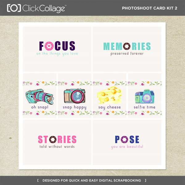 Photoshoot Card Kit 2