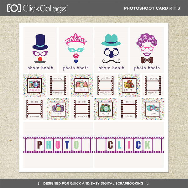 Photoshoot Card Kit 3