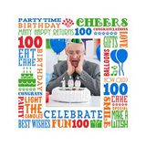 Birthday Milestones - Adult Age 100 Canvas