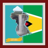 South America Mapped - Guyana