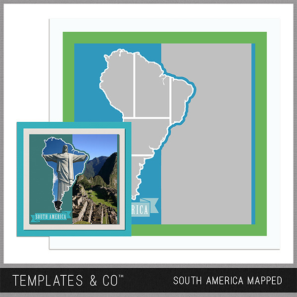 South America Mapped - South America