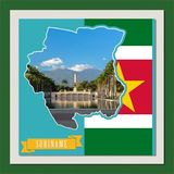 South America Mapped - Suriname