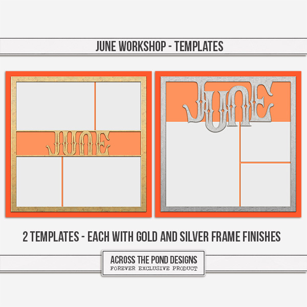 June Workshop - Templates