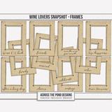 Wine Lovers Snapshot - Frames