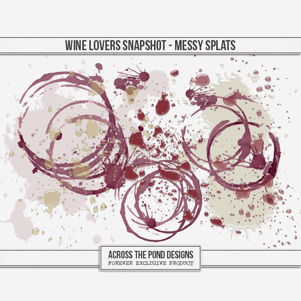 Wine Lovers Snapshot - Messy Splats