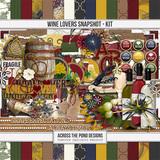 Wine Lovers Snapshot - Page Kit