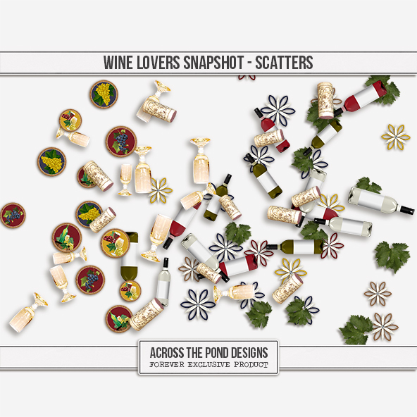 Wine Lovers Snapshot - Scatters