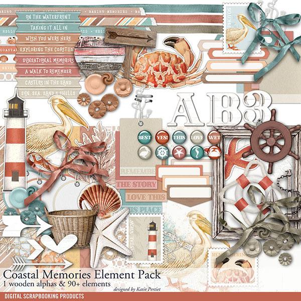 Coastal Memories Element Pack