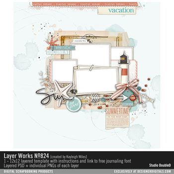 Layer Works No. 824 Layered Template
