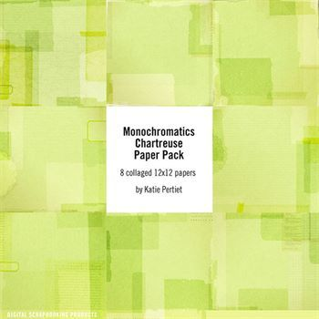 Monochromatics Chartreuse Paper Pack