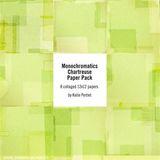Monochromatics Chartreuse Paper Pack