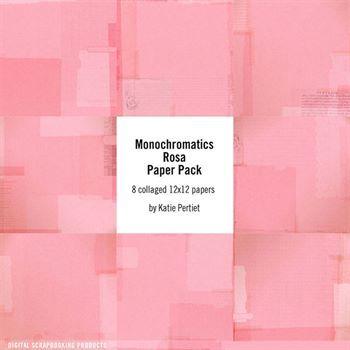 Monochromatics Rosa Paper Pack
