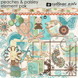 Peaches And Paisley Element Pak