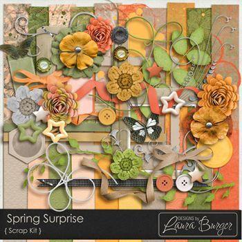 Spring Surprise Scrap Kit