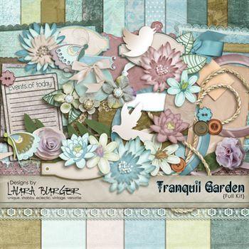 Tranquil Garden Scrap Kit