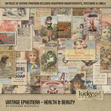 Vintage Ephemera - Health & Beauty