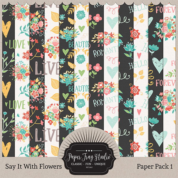 Say It With Flowers - Set 1