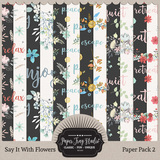 Say It With Flowers - Set 2