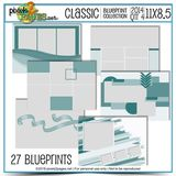 Classic Blueprint Collection 2014 - Quarter 4 (11x8.5)