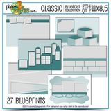 Classic Blueprint Collection 2014 Quarter 2 (11x8.5)