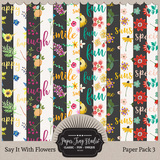 Say It With Flowers - Bundle
