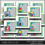 South America Mapped - Complete Bundle