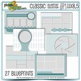 Classic Blueprint Collection 2014 Mega Bundle (11x8.5)