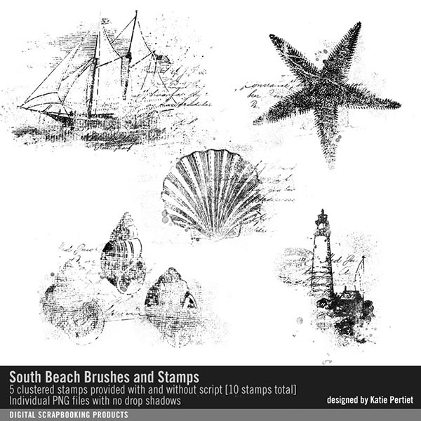 South Beach Brushes And Stamps