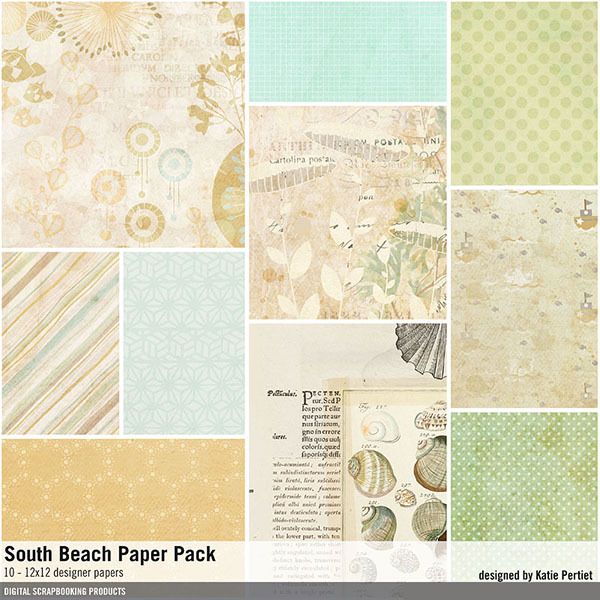 South Beach Paper Pack