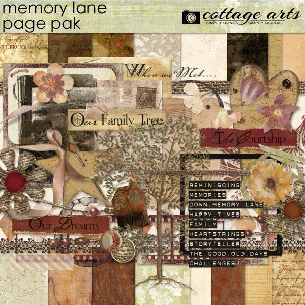 Memory Lane Page Pak