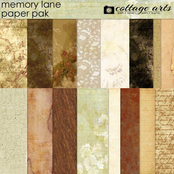 Memory Lane Paper Pak