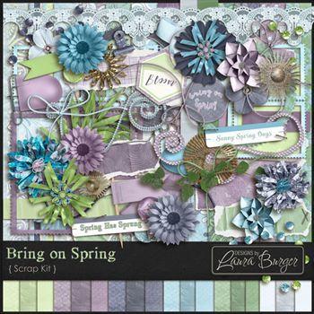 Bring On Spring Scrap Kit