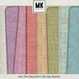 Into The Beautiful - Individual Parts - Burlap Mattes
