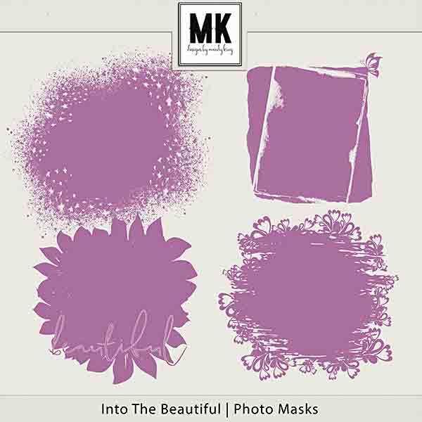 Into The Beautiful - Individual Parts - Photo Masks