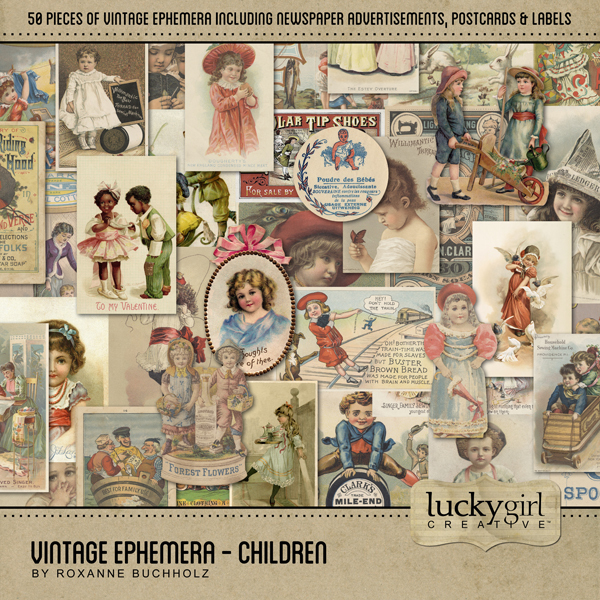 Vintage Ephemera - Children