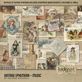 Vintage Ephemera - Music