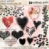 Click.Artistry Click.masks 24 - Love Fresco