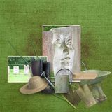 Memory Hoarders Potting Shed Finds - Burlap Papers