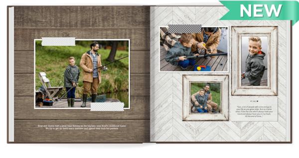 Rustic Adventures Photo Book