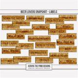 Beer Lovers Snapshot - Labels