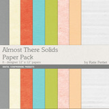 Almost There Solids Paper Pack