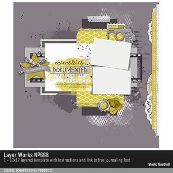 Layer Works No. 668 Layered Template
