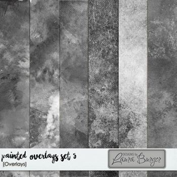 Painted Overlays Set 5