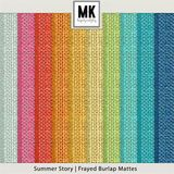 Summer Story - Burlap Mattes