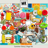 Summer Story - Page Kit