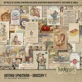 Vintage Ephemera - Grocery 1